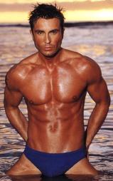 MODELL: Jan Thomas var i mange år en populær fitnessmodell.