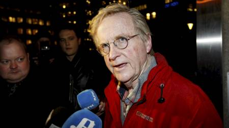 Advokat Tor Erling Staff var forsvarer for Lommemannen-tiltalte Erik Andersen før den da siktede Andersen byttet til Gunhild Lærum. (Foto: Bendiksby, Terje/SCANPIX)