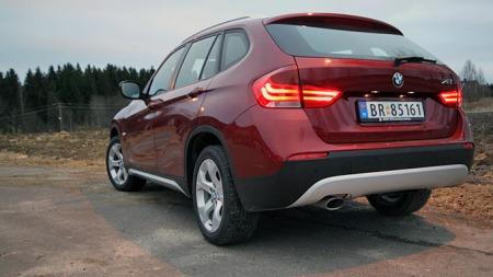 BMW X1 (Foto: Ole Martin Lundefaret)
