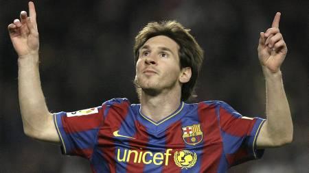 Lionel   Messi (Foto: JOSEP LAGO/AFP)