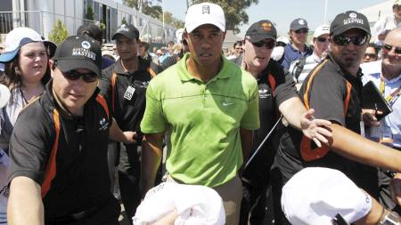 Tiger Woods (Foto: DAVID CROSLING/EPA)