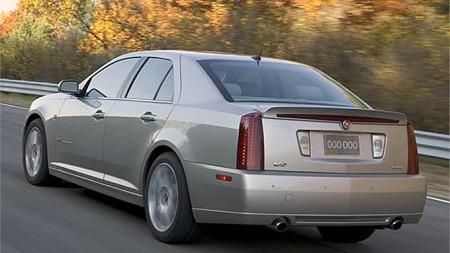 Cadillac STS.