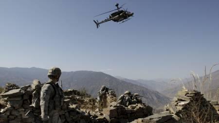 Amerikanske soldater i Kunar i Afghanistan. (Foto: David Guttenfelder/AP)