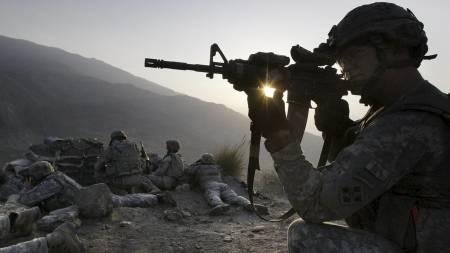 Amerikanske soldater i Kunar i Afghanistan. (Illustrasjonsfoto) (Foto: David Guttenfelder/AP)