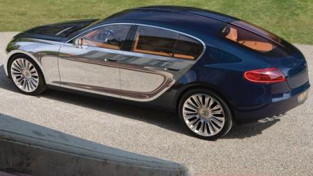 Bugatti Galibier siden bak