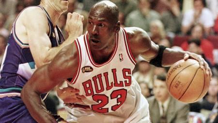Michael Jordan (Foto: JEFF HAYNES/AFP)