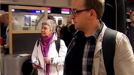 Evangelist og daglig leder i Troens Bevis, Rune Edvardsen reiser til Kongo sammen med Mathilde Moland. (Foto: TV 2)
