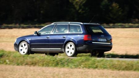 Litt tungt, men pent design på Audi A6 (Foto: Sigmund Bade)