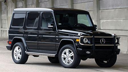 Børstraktor het de tidligere, nå heter de SUV. Dette en MB Gelendewagen, den får du til 150 000 kroner nå.