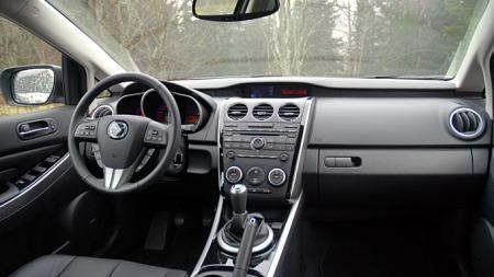 Mazda-CX-7-interiør