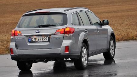 Subaru Outback (Foto: Sigmund Bade)
