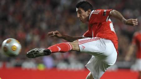 Benfica's   Angel Di Maria (Foto: Alvaro isidoro/AP)
