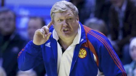 Russland-sjef Jevgenij Trefilov. (Foto: Kallestad, Gorm/Scanpix)