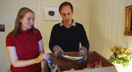Grünerløkka flyttebyrå kunder - Nina og Andreas Lind