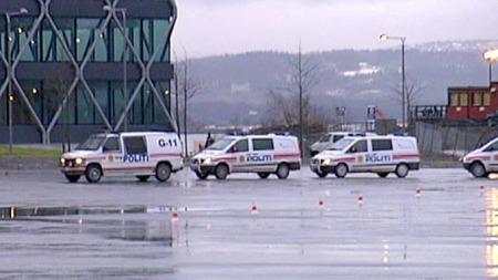 Politiet trener til obama (Foto: TV 2)