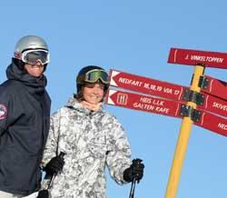 På storm.no/ski finner du ut hvor du bør dra! (Foto: Espen Haakenstad)