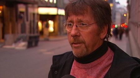 KRISTISK TIL EGET PARTI: Fylkesleder i Østfold SV, Roy Eilertsen, er svært kritisk til håndteringen av biodieselsaken.  (Foto: TV 2)