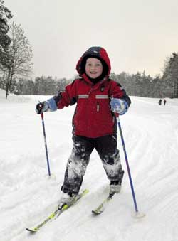 Sjekk skiføret på storm.no/ski. (Foto: Erik Johansen / SCANPIX)