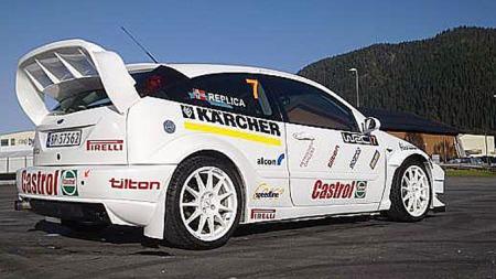 2001, Ford Focus WRC-replica (Foto: Matias Nyhus)