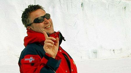 Statsminister Jens Stoltenberg i Antarktis i 2008. (Foto: Scanpix)