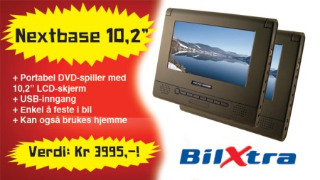 10 tommers lcd dvd