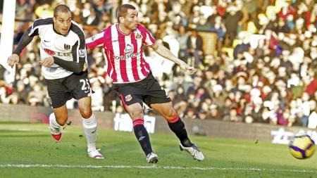 Phil Bardsley er én av sju spillere som har scoret ligamål for   Sunderland denne sesongen. (Foto: TOM HEVEZI/AP)