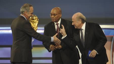 Sepp Blatter (Foto: STEPHANE DE SAKUTIN/AFP)