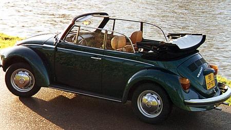 VW Boble cabriolet fra 1979