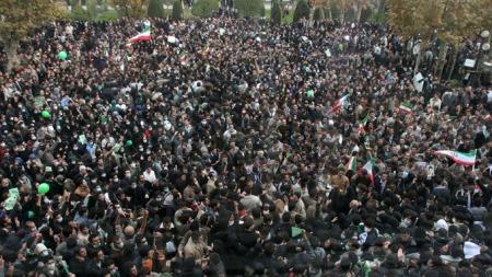 iran teheran demonstrasjoner  (Foto: Scanpix)