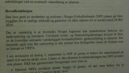 EM-rapport (Foto: Sindre Olsen/)