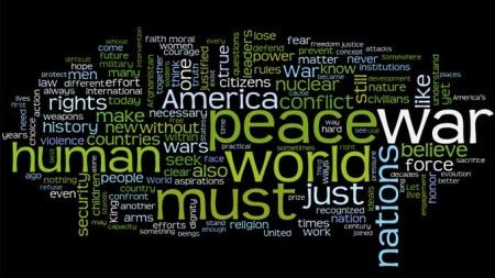 Ordsky-Obama (Foto: www.wordle.net)