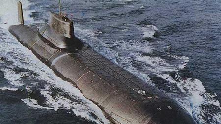 En russisk Typhoon-ubåt. (Foto: Wikimedia.commons)