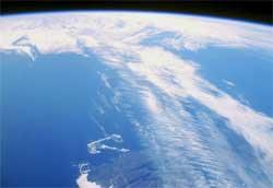 Jetstrømmen fotografert over Canada. (Foto: Wikipedia Commons)