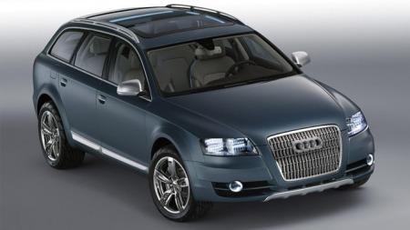 Audi Allroad Concept, sønnesønn til AMC Eagle