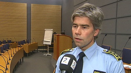 Politiinspektør Atle Roll-Mathisen i Kripos. (Foto: TV 2)