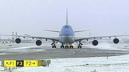 Air Force One på Kastrup lufthavn (Foto: Reuters/)