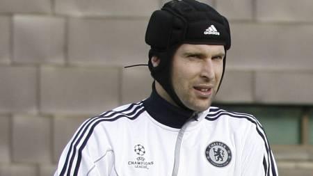 Petr Cech er ue med skade. (Foto: IAN KINGTON/AFP)