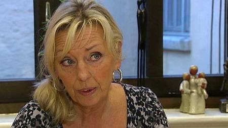 Daglig leder Wenche Holmberg Nielsen ved Norsk Krisesenterforbund. (Foto: TV 2)