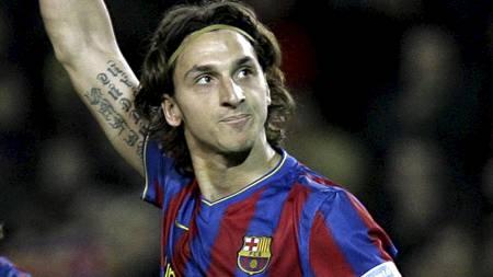 Zlatan Ibrahimovic (Foto: JOSEP LAGO/AFP)