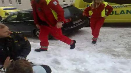 ambulansebrak2 (Foto: Yusuf Yuksel)