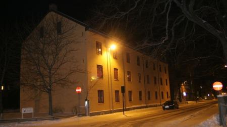 DREPT I LEILIGHETEN: I en leilighet i Sverres gate på Kalvskinnet   i Trondheim ble Linn Sandtrøen funnet drept 6. januar. (Foto: Tor Aage   Hansen)