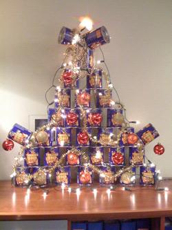 Her er julepynt-vinneren. (Foto: Harald Warhuus Mørken)