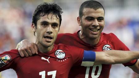 Ahmed Hassan og Emad Meteeb (Foto: -/EPA)