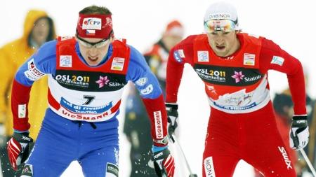 Petter Northug, Lukas Bauer (Foto: Heiko Junge / Scanpix)