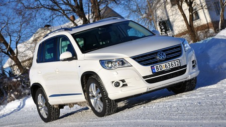 VW Tiguan er langtfra en ny modell i bilmarkedet, men den selger likevel svært bra - og er attraktiv som bruktbil.