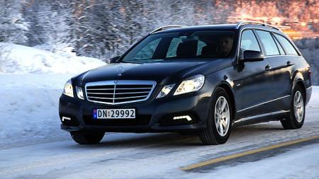 Nydelig bil å kjøre.  (Foto: Sigmund Bade)