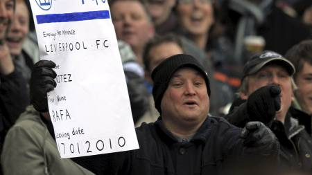 Stoke City supporter (Foto: PAUL ELLIS/AFP)