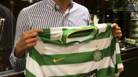 Thomas Rogne klar for Celtic (Foto: www.celticfc.net   / med tillatelse fra Celtic FC.)