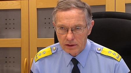 Politimester i Oslo, Anstein Gjengedal.