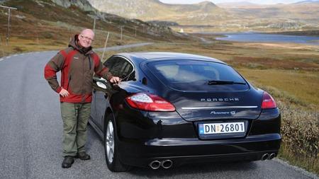 Panamera er Jan Eriks favoritt-Porsche, (Foto: Minstemann)